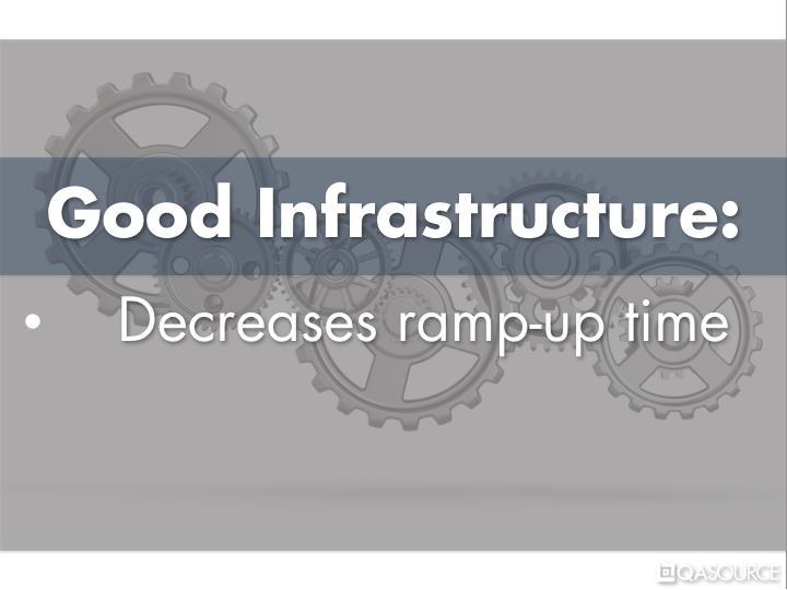 Good Infrastructure: