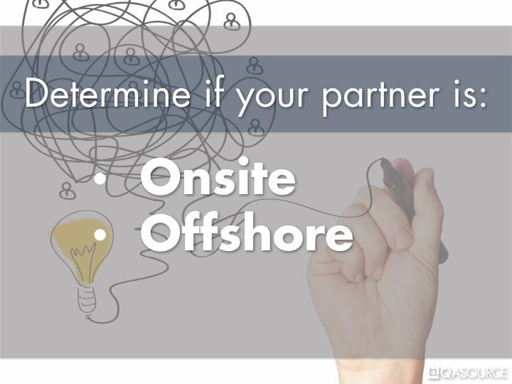 Determine if your partner is: