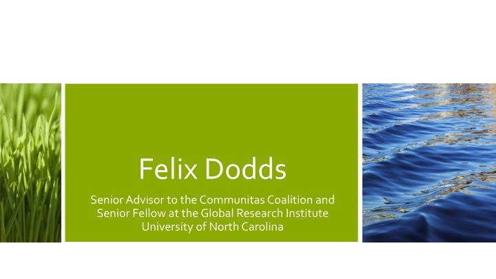 Felix Dodds