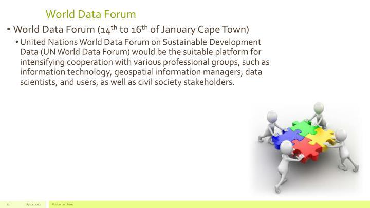 World Data Forum