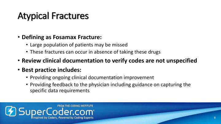 Atypical Fractures