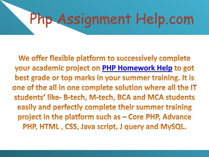 We offer flexible platform to successively complete your academic project on