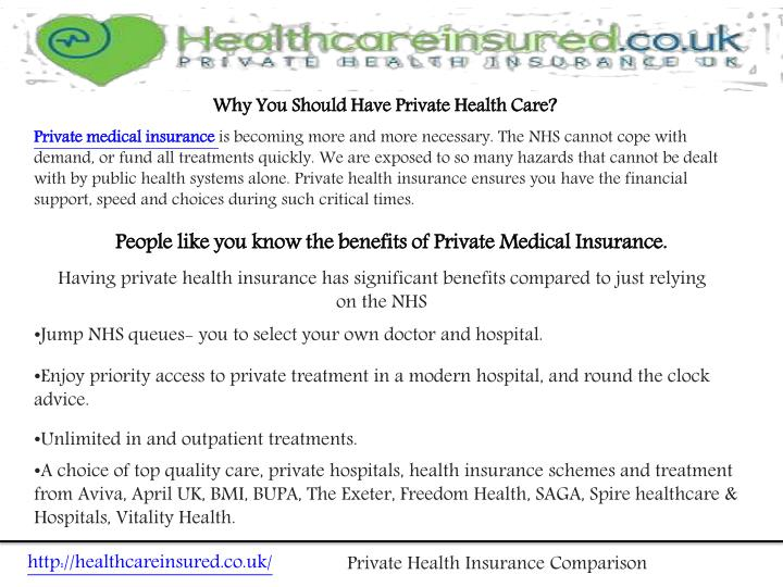 Why You Should Have Private Health Care