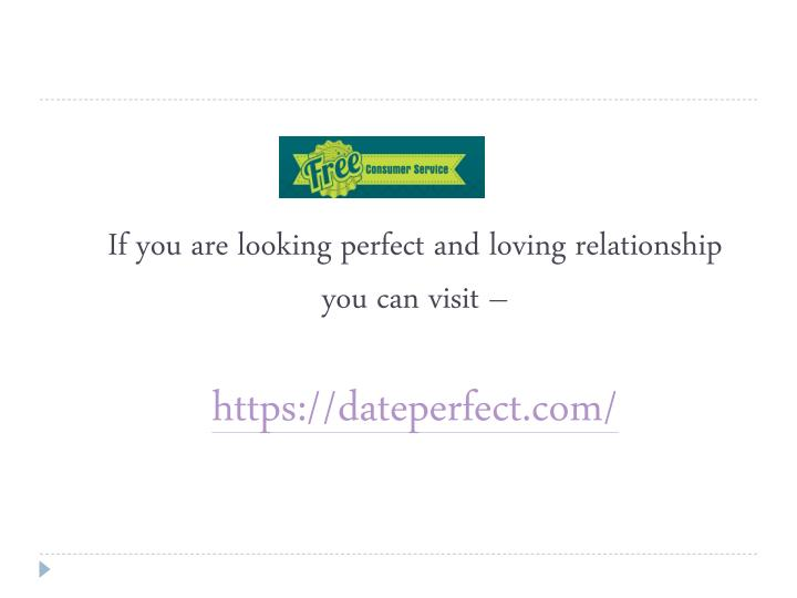 If you are looking perfect