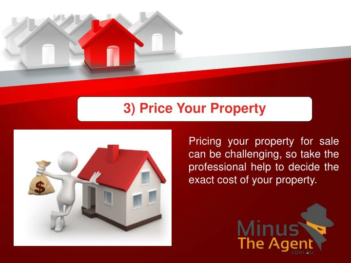 3) Price Your Property