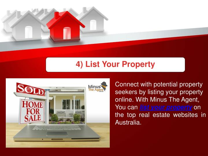 4) List Your Property