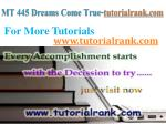 mt 445 dreams come true tutorialrank com7
