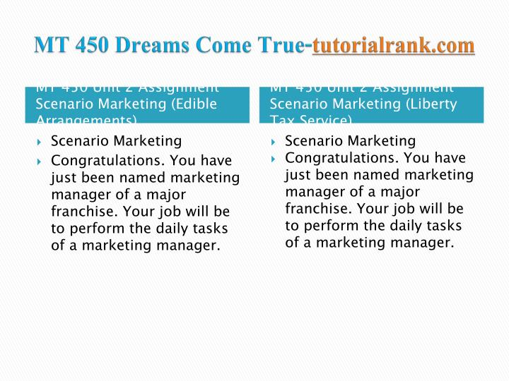 Mt 450 dreams come true tutorialrank com2