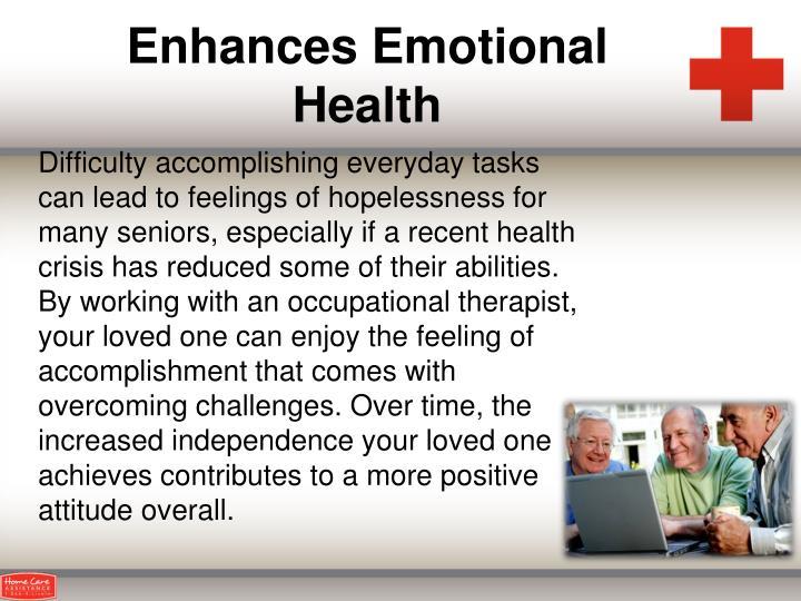 Enhances Emotional Health