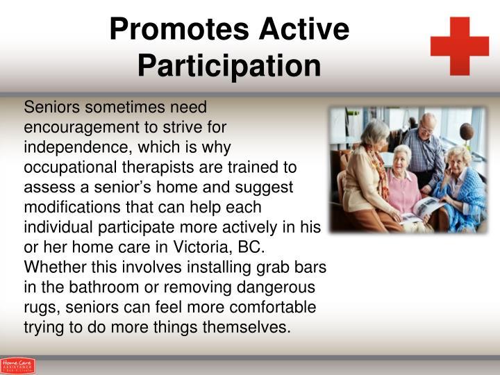 Promotes Active Participation