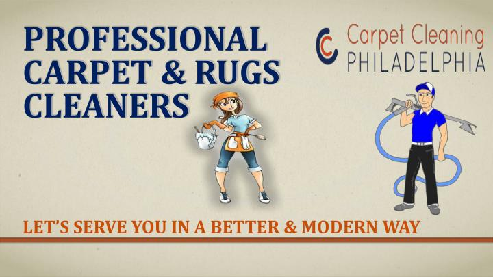 Professional carpet rugs cleaners