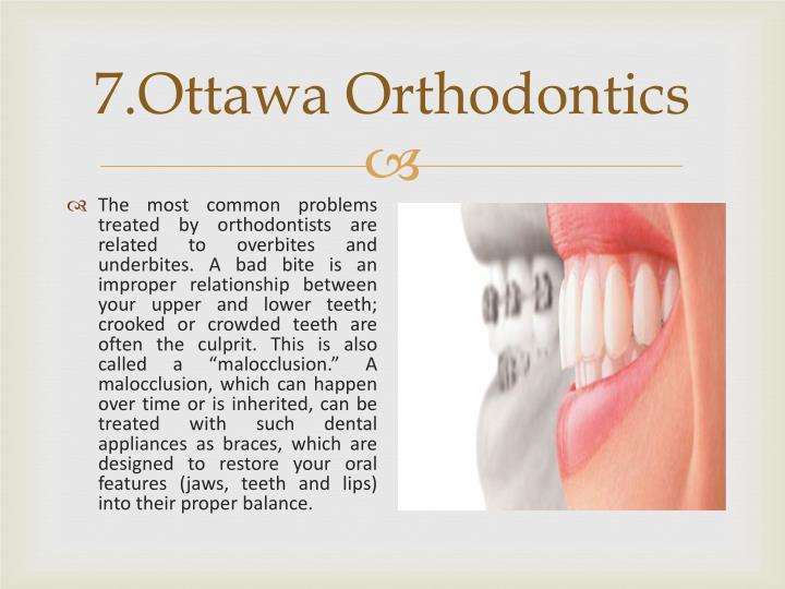7.Ottawa Orthodontics