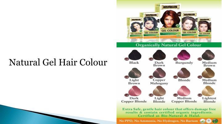 Natural Gel Hair Colour