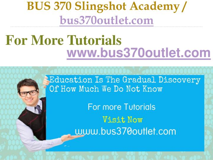 Bus 370 slingshot academy bus370outlet com