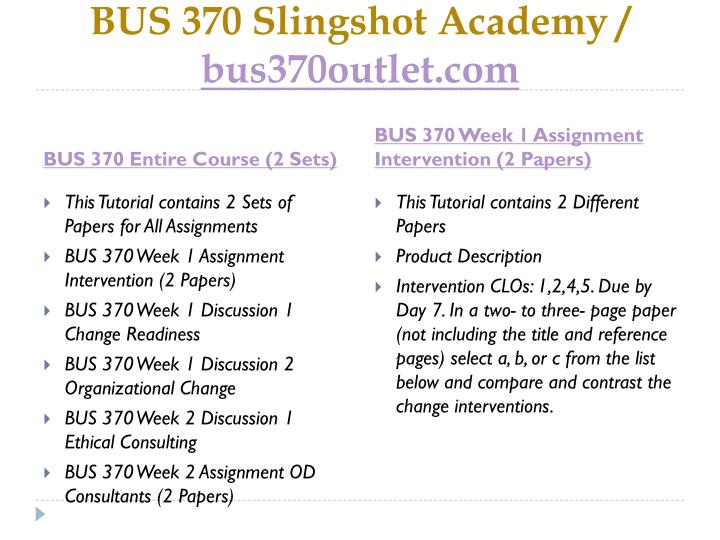 Bus 370 slingshot academy bus370outlet com1