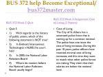 bus 372 help become exceptional bus372master com6