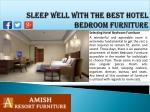 sleep well with the best hotel bedroom furniture1