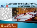 sleep well with the best hotel bedroom furniture2