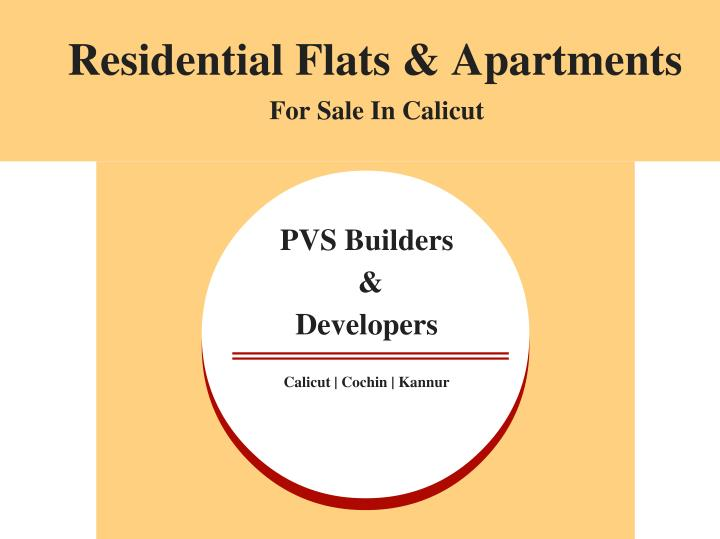 Residential Flats & Apartments
