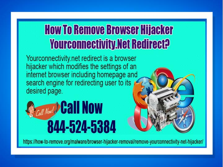 How to remove browser hijacker yourconnectivity net redirect
