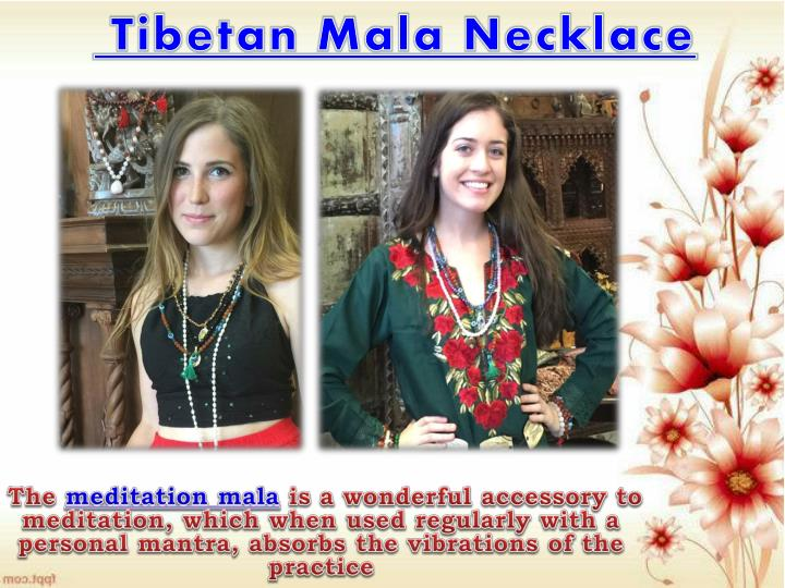 Tibetan Mala Necklace