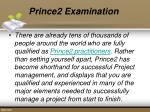 prince2 examination