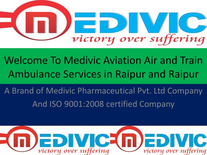 Welcome To Medivic Aviation Air and Train
