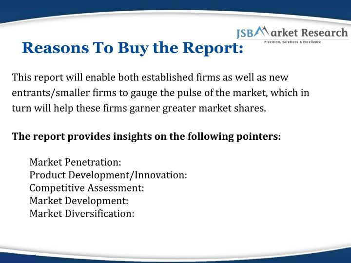 Reasons To Buy the Report: