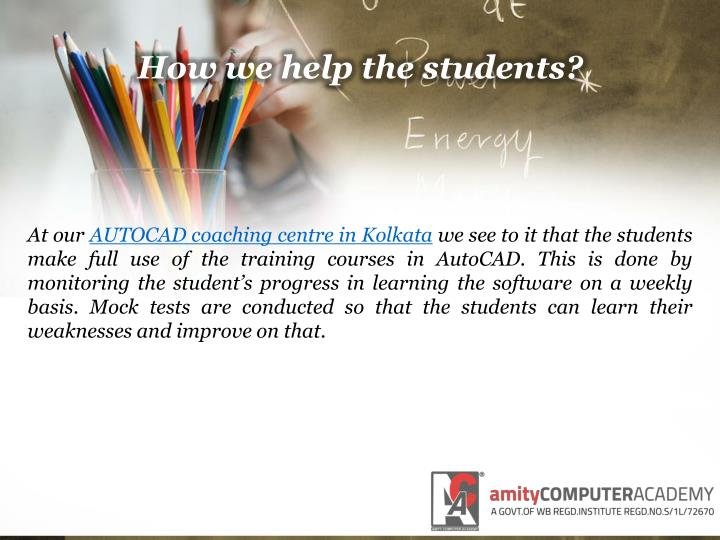 How we help the students?