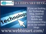 webbinart blog