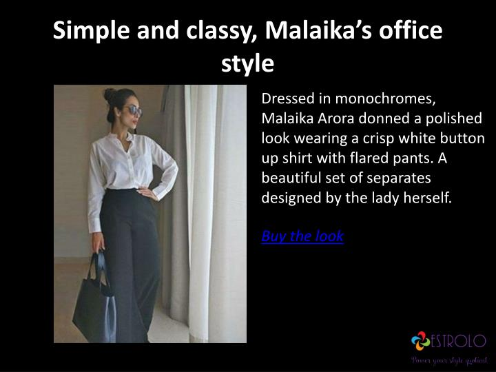 Simple and classy,