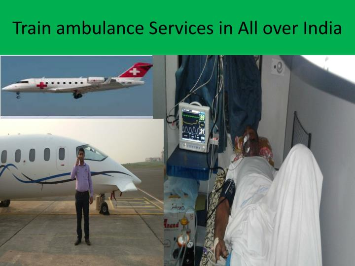 Train ambulance Services in All over