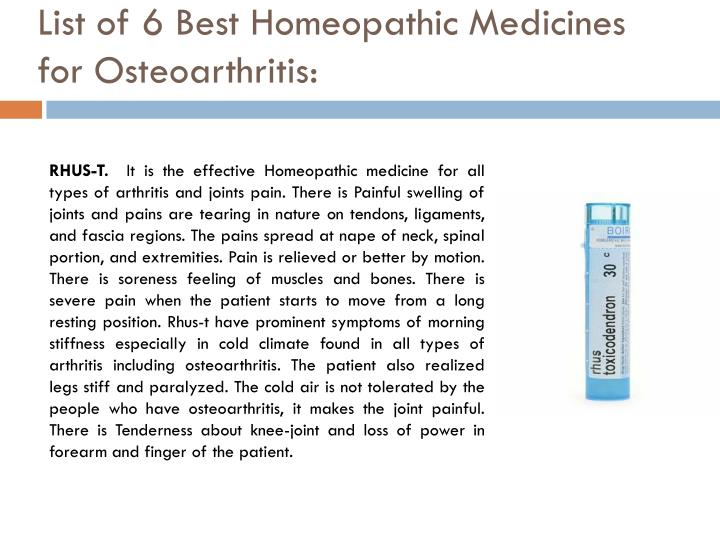 List of 6 Best Homeopathic Medicines