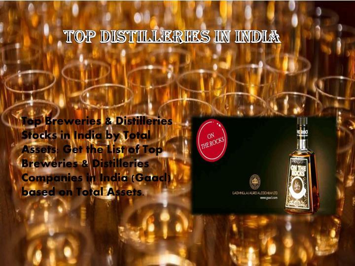 Top Distilleries in India