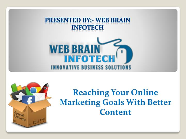 Reaching your online marketing goals with better content