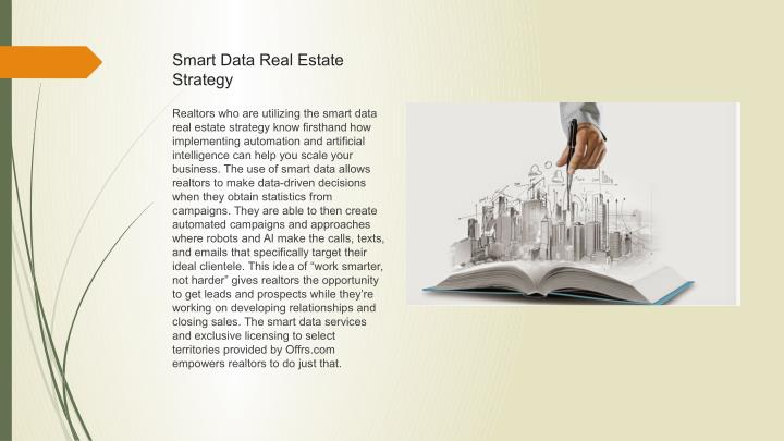 Smart Data Real Estate