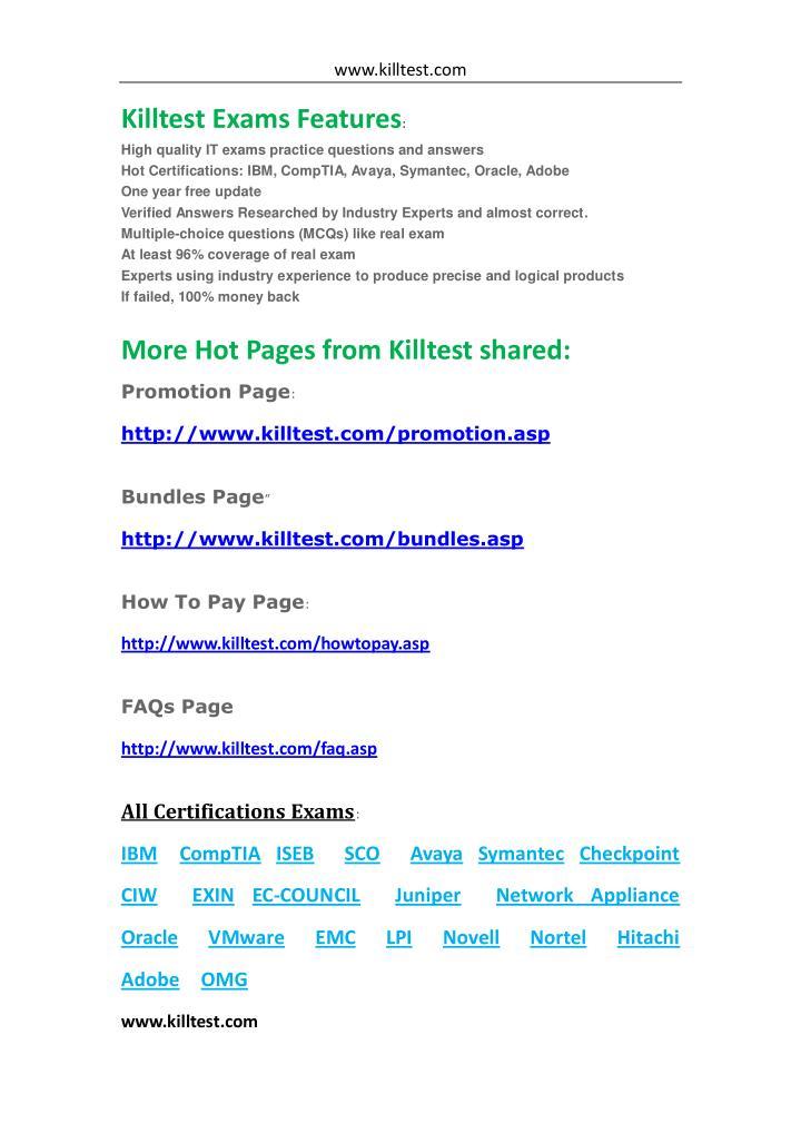 www.killtest.com