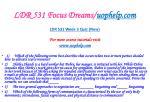 ldr 531 focus dreams uophelp com19
