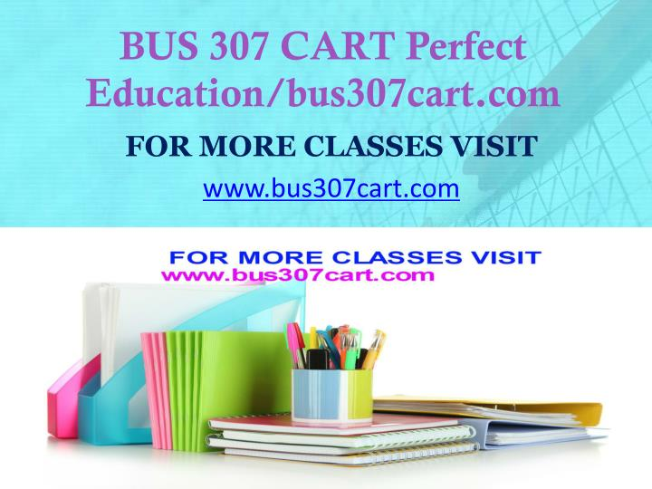 Bus 307 cart perfect education bus307cart com