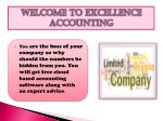 welcome to excellence accounting
