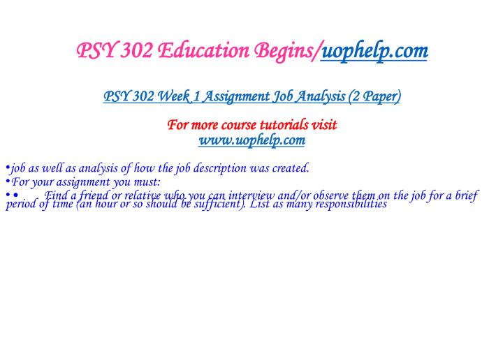 Psy 302 education begins uophelp com2
