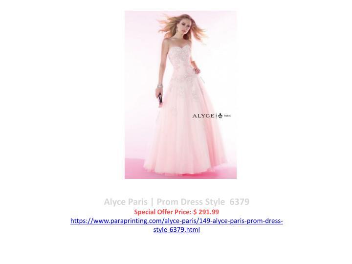 Alyce Paris | Prom Dress Style  6379