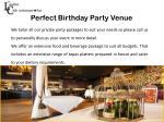 perfect birthday party venue1