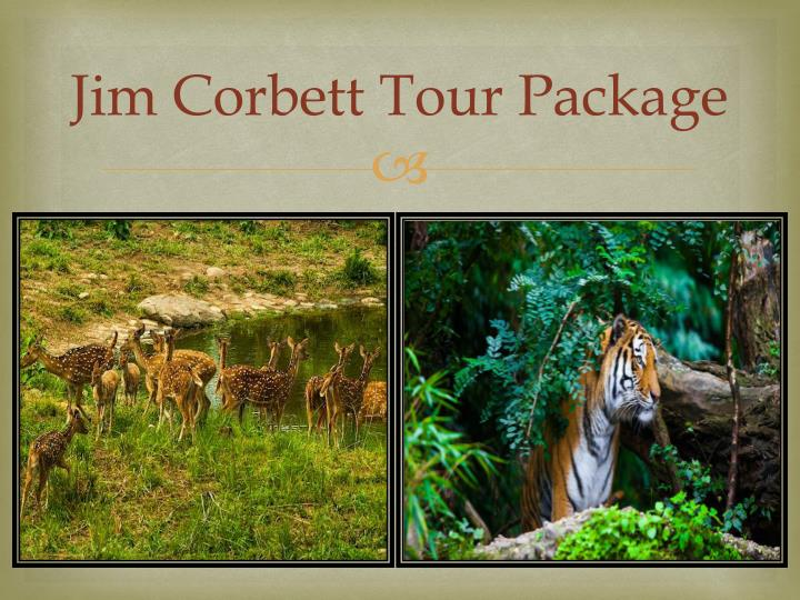 Jim corbett tour package