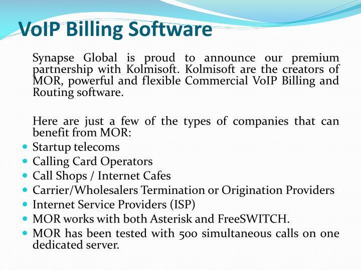 VoIP Billing Software