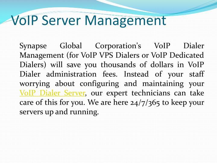 VoIP Server Management