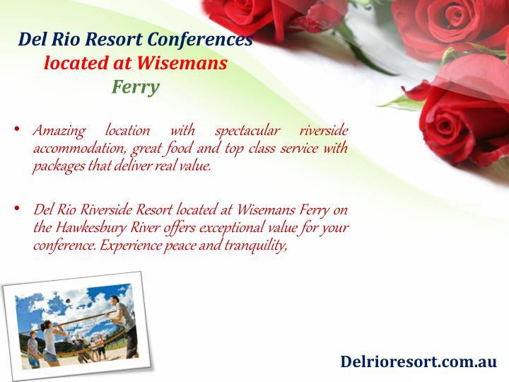 Del Rio Resort Conferences