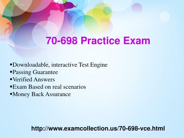 70-698 Practice Exam