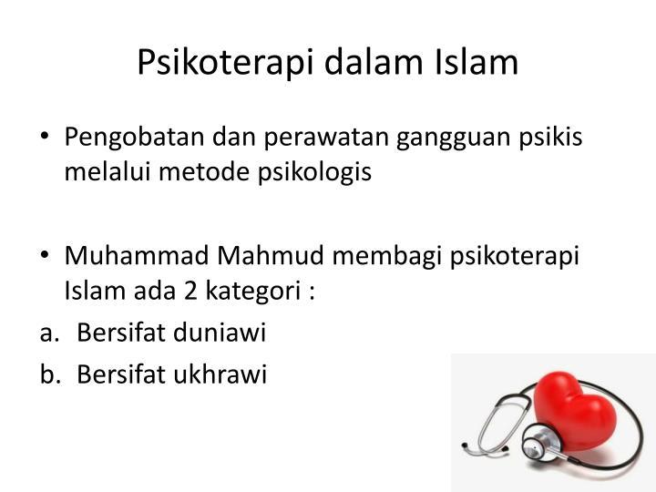 Psikoterapi dalam Islam