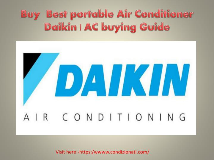 Buy best portable air conditioner daikin ac buying guide